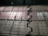 ホックが付いている電流を通されたRinglockの足場鋼鉄板