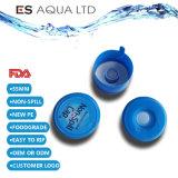 100% de la nueva mascota 55mm 5 galón de la botella de agua Non-Spill PE Tapa tapas de cubierta inteligente