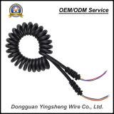 3 ядер TPU Спиральный кабель Спиральный кабель провод с УФ защитой