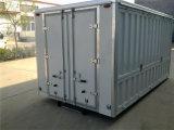 반 트럭 트레일러 또는 세미트레일러 트럭에 있는 무거운 탑재량 Tripple 차축 상자 트레일러