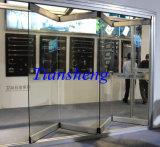 Коммерчески двери складчатости Frameless стеклянные