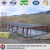 Vorfabrizierte Stahlkonstruktion-Werkstatt mit Geländer-Wand