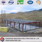 Estructura de acero prefabricados Sinoacme Taller con parapeto muro