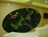 Piante di buona qualità e fiori artificiali della parete verticale Gu-Mx-Green-Wall0013