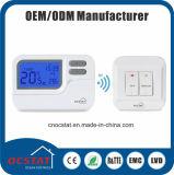 Thermostats hebdomadaires sans fil de Programmalbe avec du ce EMC LVD d'OIN 9000