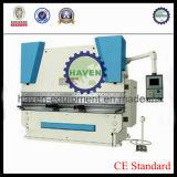 Máquina de dobra hidráulica WC67-125/4000 da placa da indicação digital de WC67YSeries