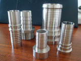 Entrerrosca del manguito de las instalaciones de tuberías de acero inoxidable del bastidor