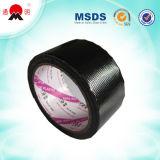 Ruban en tissu adhésif noir pour l'emballage