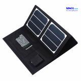 Carregador solar plegável multifuncional 40W com saída de USB dual e USB de 18V para laptop, carregamento de celular (FSC-40A)
