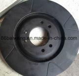 Rotor encoché et foré de disque de frein pour la série de véhicules de sport