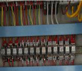 Belüftung-Blendenverschluss-Tür-heißes Vakuum, das lamellierende Maschine für Tür-Panel mit Belüftung-Furnier-Blattglattem Film oder Matt-Film betätigend sich bildet