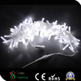 백색 색깔 PVC 케이블 LED 가벼운 끈