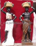 Камень мраморные статуи резьба резные скульптуры в саду для украшения (Си-X1200)