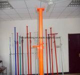 塗られた調節可能なジャックポストの支注の支柱