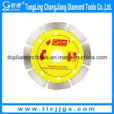 Lâmina de serra circular de corte de diamante para ladrilhos de engenharia de corte