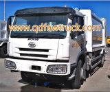de speciale vrachtwagen van het 8 - 12 m3Huisvuil, FAW 8-10 van de Pers Ton van de Vrachtwagen van het Afval