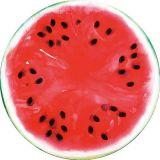 Comida personalizados e design de frutos de toalha de praia de microfibras redonda