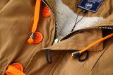 Шерсти способа и с капюшоном одежды для износа малышей