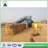 農業機械直売の半自動油圧干し草のわらの梱包機