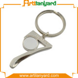 Metal relativo à promoção Keychain do projeto feito sob encomenda da forma
