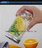 bouteille en verre de maçon de fruit de lait de boisson de configuration du diamant 350ml