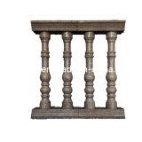 Balustrade en pierre de marbre à la meilleure qualité, rampe à main courante et escalier