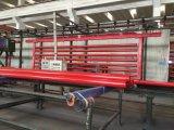 O vermelho pintou as tubulações de aço soldadas com a extremidade Grooved para a luta contra o incêndio