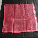 China Red L-Sewing PP Leno Mesh Net Bag