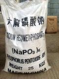 Гексаметафосфат натрия, номер 10124-56-8 CAS, качество еды, промышленная ранг
