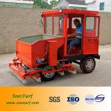 Máquina diesel del Infill y del cepillo para el césped artificial de la hierba, césped sintetizado falso del césped