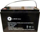 12V 125Ah batería para el sistema de Energía Solar
