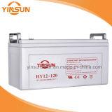 batería de plomo del AGM de 12V120ah VRLA con 2 años de garantía y sin necesidad de mantenimiento