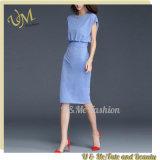 GroßhandelsbaumwollePolyeater Frauen-preiswerte Form-Verband-Kleider