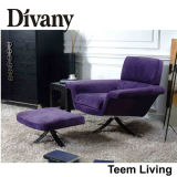 Divany Best Purple SofaかMicrofiber Couch/Recliner Sofa D-10