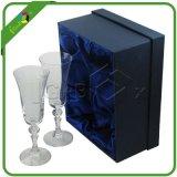Papiergeschenk-verpackenwein-Spiritus-Kästen für Glasalkohol-Flaschen-Verpackung