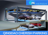 Strumentazione automatica di parcheggio dell'automobile di puzzle dei tre 3 livelli