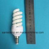 100% Tri-Phosphor 9mm espiral completo pequena lâmpada economizadora de energia de 220V (marcação&RoHS)