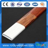 Perfil de alumínio anodizado de madeira do frame de indicador do fabricante superior de China