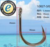 Crochet de pêche en acier inoxydable 10827