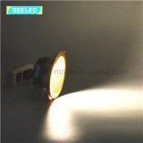 LEDの軽い天井灯5WはWtiheのプロジェクト商業LED Downlightを暖める