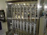 آليّة زجاجيّة مرطبان عسل يملأ يغطّي آلة