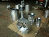 Tres capas del ABA de la coextrusión de la máquina que sopla principal rotatoria de la película plástica (estirador plástico)