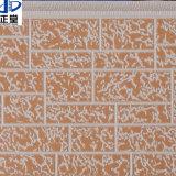 Твердой панель сандвича пены PU выбитая изоляцией металлическая для внешней стены
