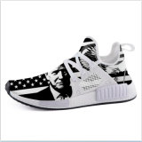 La mode des chaussures de gros de haute qualité de l'exécution Sneaker Drop-Shipping Trump Eagle Drapeau USA Chaussures de sport