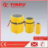100t 300mm Dubbelwerkende Op zwaar werk berekende Hydraulische Cilinder (rr-100300)