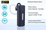 Câmera de fone de ouvido Bluetooth Mini Vídeo da câmera digital, gravação de áudio Detecção de movimento K8