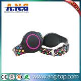 Ver el estilo Ntag213 RFID de silicona pulseras Pulsera NFC para Hotel
