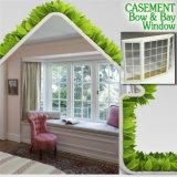 Thermischer Bruch-Aluminiumbucht u. Bogen-Fenster für Wohngebäude, kundenspezifisches unregelmäßiges Flügelfenster-Fenster