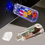 Логос OEM ручки USB привода вспышки USB персонализировал USB 2.0 привода вспышки внезапного диска карты памяти Usbflash Pendrives предмета способа жидкостный плавая