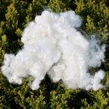 Teddybär, der Faser Siliconized weiße Polyester-Faser Hcs Polyester-Spinnfaser anfüllt